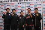 「いまの自分なら優勝する自信がある(桃田)」 全日本総合 記者会見コメント