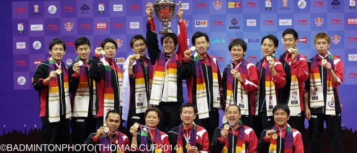 トマス杯2014