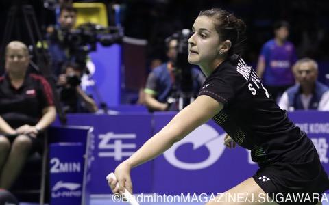 14、15年世界選手権優勝のキャロリーナ・マリーン(スペイン)