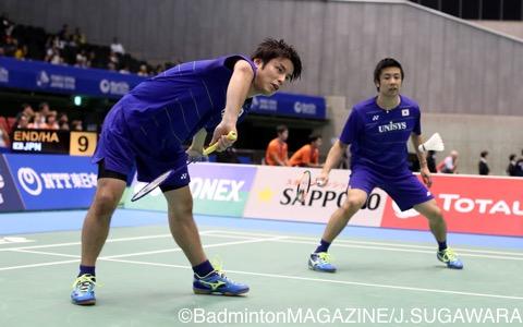 早川賢一(左)/遠藤大由