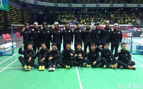 日本選手団の中心は高校2、3年生。だが、今年は全国中学校大会で史上初の3連覇を果たした奈良岡功大(浪岡中学校3年)もメンバー入りしている