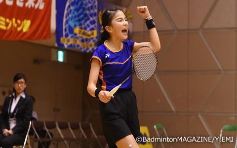 出場したすべての試合で勝利をあげた5年生の石岡空来
