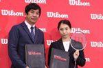 【イベント情報】松友美佐紀がウイルソンと現役生涯契約を締結