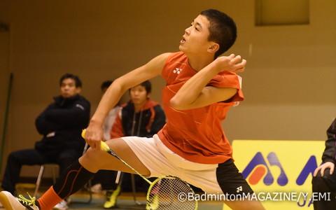 今夏のABC大会王者の池田真那斗(香川県・香川スクール)はストレート勝ちで8強入り