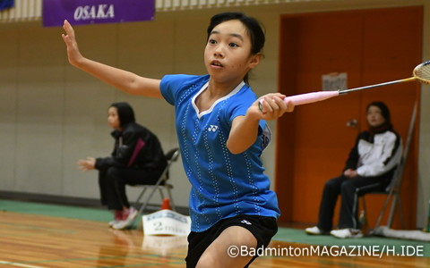 ABC大会女王の明地陽菜(大阪府・瓜破西SSC)は3回戦を逆転勝ちでベスト8に進出