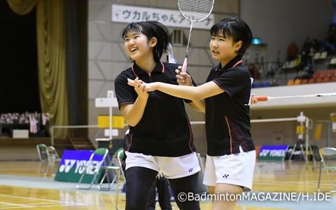 岩西真那/藤田美咲(東京都・Team Clover)が接戦を制して3連覇を達成