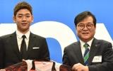 【選手情報】韓国のスター選手・李龍大が地元実業団チームに入団