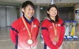 【アジア混合】アジア王者に輝いた日本選手団が帰国!<選手コメント>