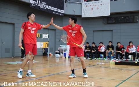 吉川(左)/疋田(三菱自動車京都)