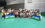 【イベント情報】今別府&内藤によるYONEXキッズバドミントンアカデミーが開催