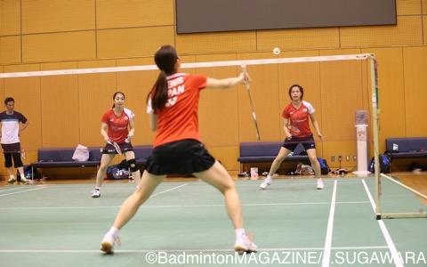 日本代表公開練習