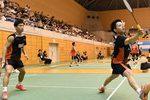 【日本RC】男子複・復帰戦の古賀輝がベスト8入り! 女子複は四つ角シードが勝ち上がる 男女・混合ダブルス2回戦
