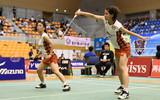 【日本RC】女子ダブルスは日本B代表3ペアが準決勝へ 男女・混合ダブルス2回戦