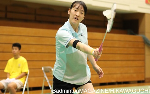 女子選手では唯一、高校生でナショナルB代表に入っている髙橋明日香(ふたば未来学園)。三冠を獲得できるかに注目