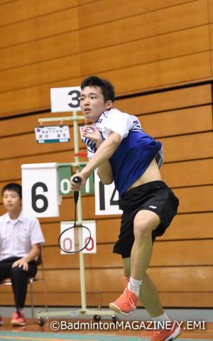 昨年、全日本ジュニア新人の部で2連覇を果たした山下啓輔(猪苗代)が全中でも日本一に輝いた