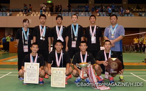 チームは青森県勢初の準優勝