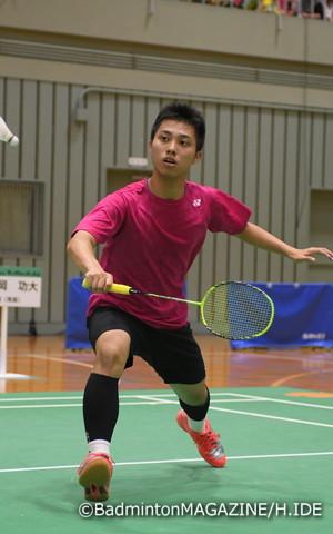 インターハイでは5日間で16試合を戦い抜き、団体とシングルスで準優勝に輝いた奈良岡