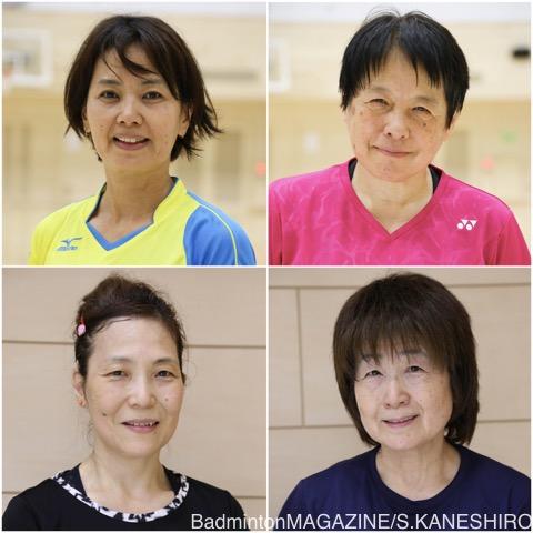 写真左上:石井さん、右上:池田さん、左下:雨宮さん、右下:立花さん