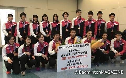 日本は団体戦で銅メダルを獲得。個人戦では二つのメダルを手にした