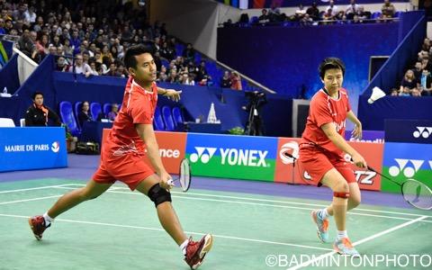 アーマド(左)/ナトシール(インドネシア)