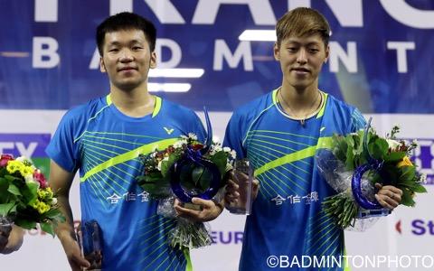 李洋(左)/李哲輝(台湾)