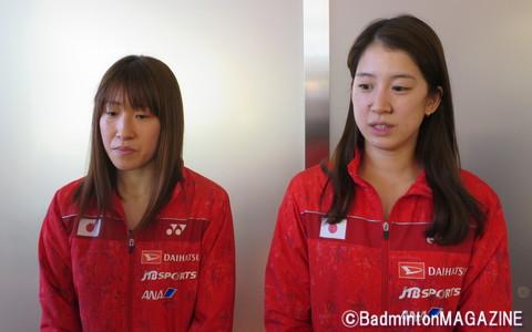 米元小春(右)&田中志穂(左)