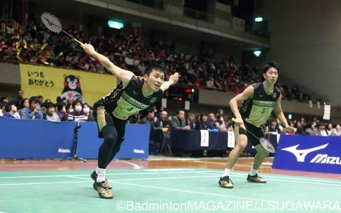 竹内義憲/松居圭一郎(左)が先制点をゲット