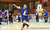 第1シードのふたば未来学園(福島)は、激戦を勝ち抜いてベスト8入り。3回戦では主将の廣澤紫雲(写真)が気迫あふれるプレーで勝利をつかみ取った