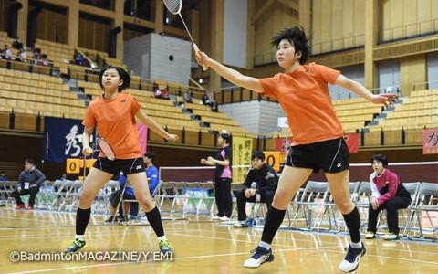1年生ながらチームを力強く支えた鈴木(左)/大澤