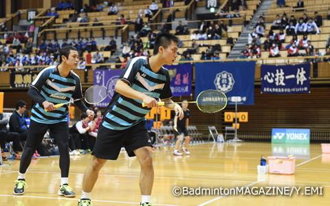 昨年のインターハイは埼玉栄を3回戦で破り準優勝を果たした浪岡だが、選抜ではリベンジを許してベスト8。奈良岡は武藤(奥)との1年生ペアで一矢報いた