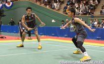 園田(左)/嘉村は2日連続で勝利をあげた