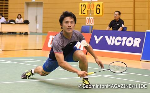 快進撃を続けてきた小本翔太(日本体育大4年)は決勝で敗れ準優勝