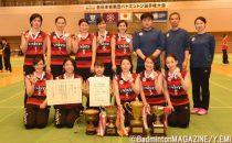 第3シングルスまでもつれた試合を制した日本ユニシスが2連覇