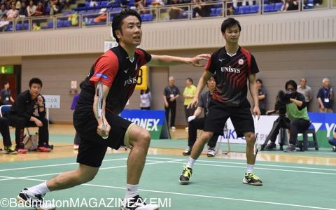 遠藤大由(左)/渡辺勇大