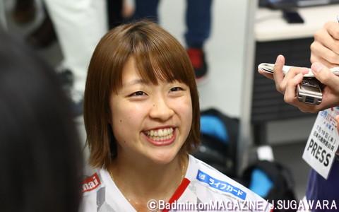 昨年の金メダルは、日本シングルスでは男女通じて初めての快挙だった