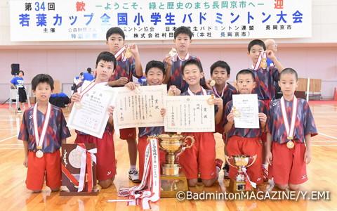 3年ぶり2度目の優勝を飾ったDream.Jr(福井)