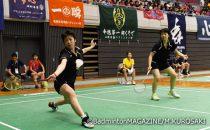 青森山田の大石悠生/木村早希は2-0のストレート勝ちを重ねて準決勝進出