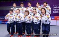 アジアの頂点に立ち、再び強さを証明した日本女子