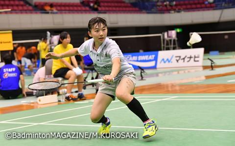自己最高だった全国大会3位の壁を超え、決勝進出を果たした佐川智香(作新学院)