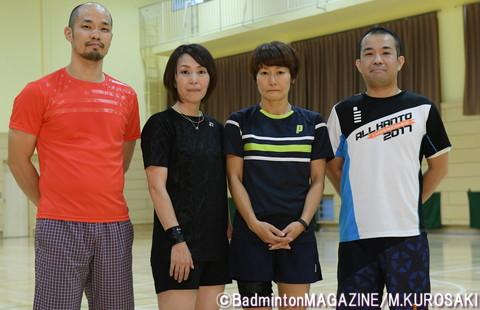 モニターを務めていただく4人。左から、藤本さん、斎藤さん、佐々木さん、野本さん