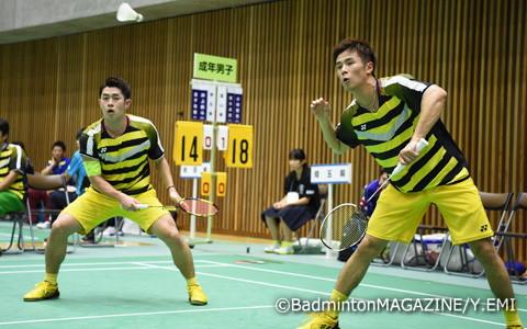 保木卓朗(左)/小林優吾