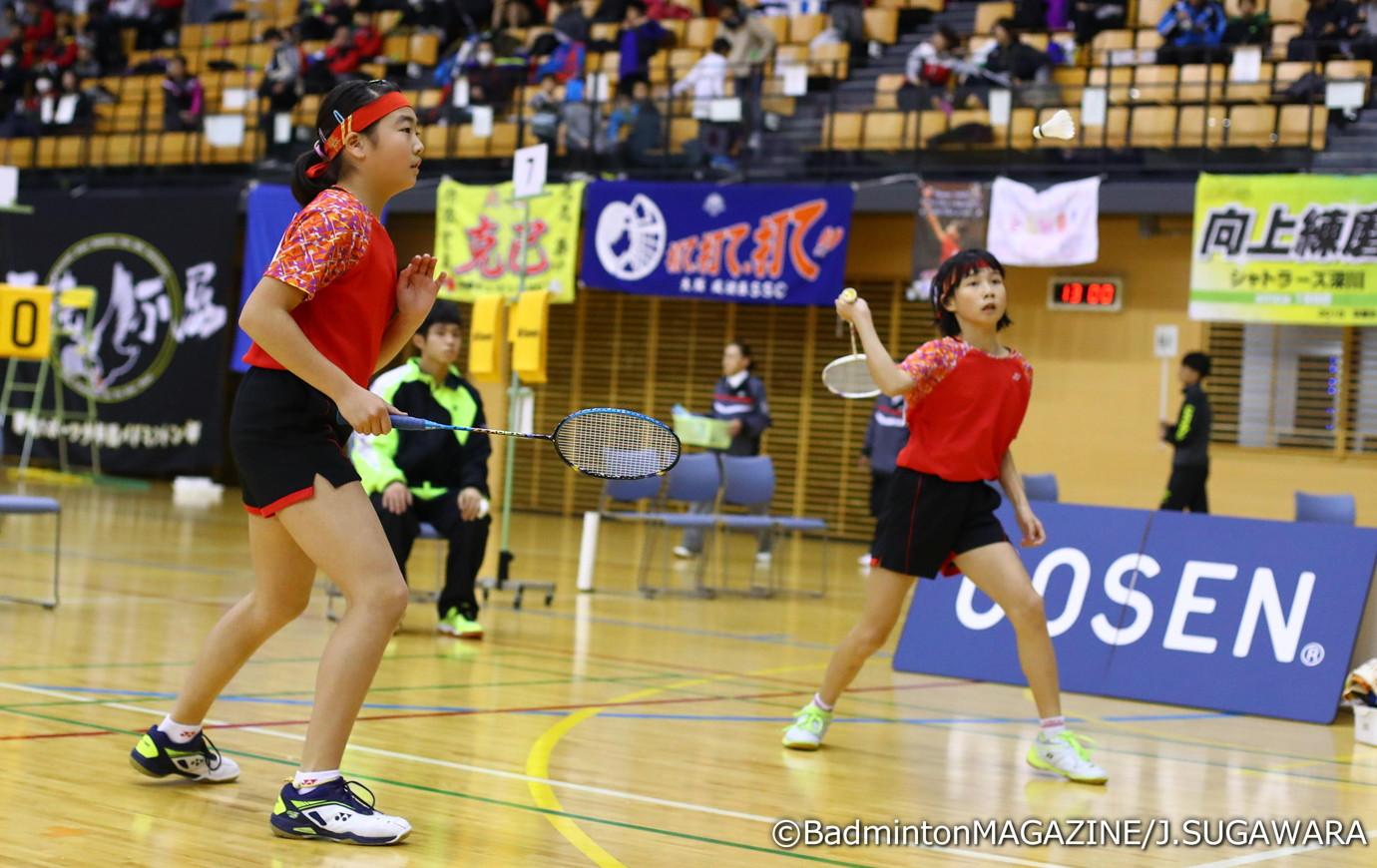 大阪の相磯(右)/高口は決勝こそ敗れたが、それまでは全勝を収めてチームに大きく貢献