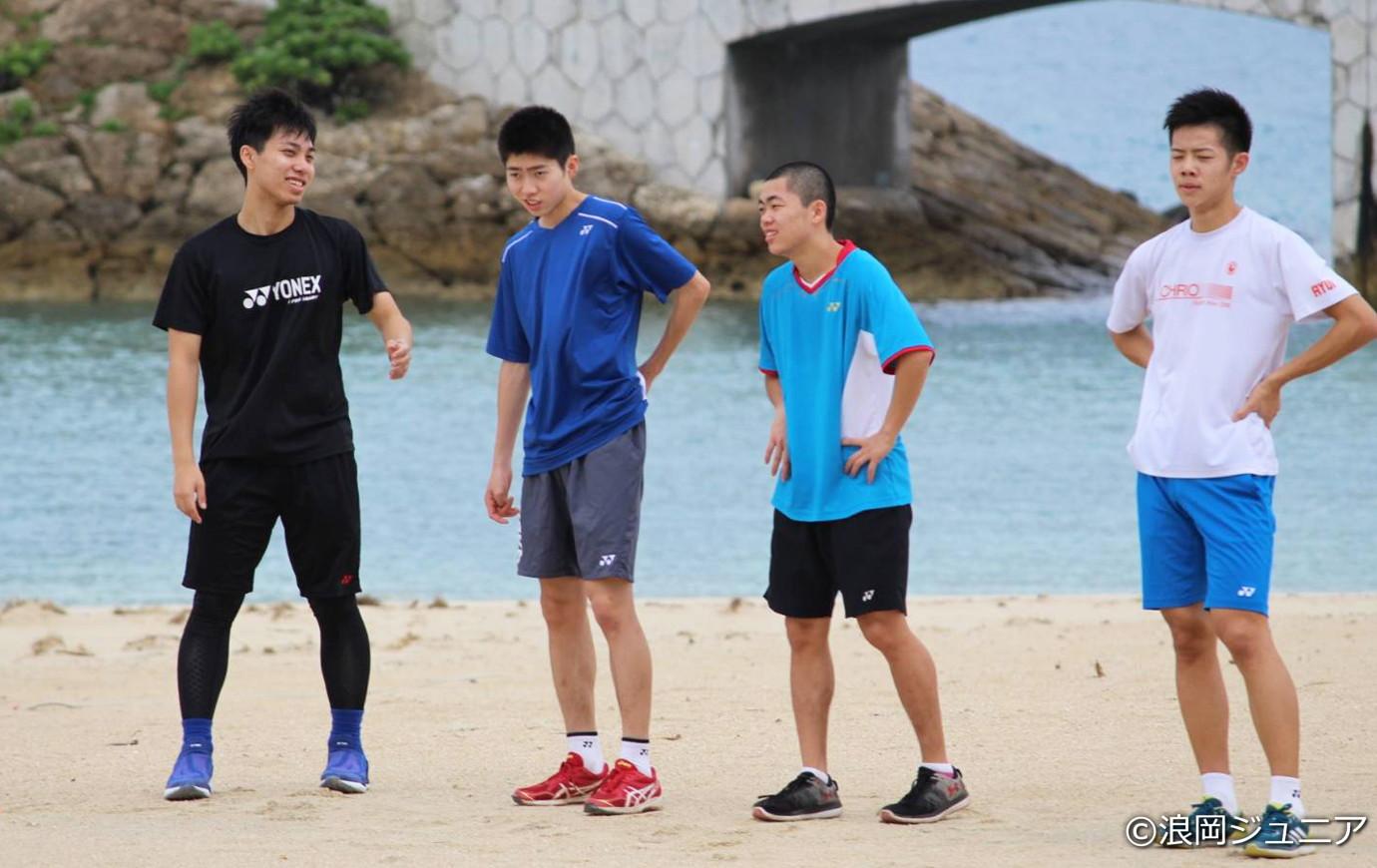 砂浜トレーニングの様子③
