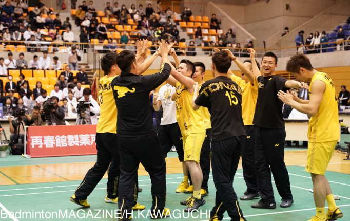 【S/Jリーグ2018TOP4】トナミ運輸が3年連続9回目のリーグ制覇!<男子>