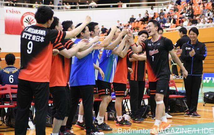 【全日本実業団】NTT東日本と日本ユニシスが決勝で激突!<男子>