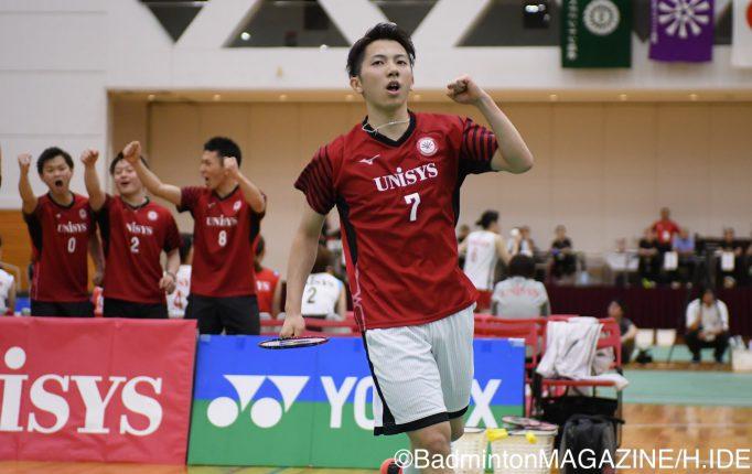 【全日本実業団】日本ユニシスがNTT東日本を3−0で破り2年ぶりの優勝!<男子決勝>