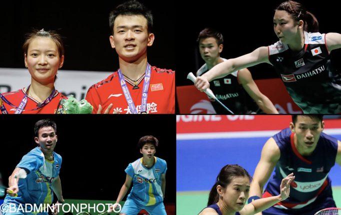 【五輪レース前半振り返り】中国2強が好スタート!渡辺&東野も安定した成績残す!<混合ダブルス>