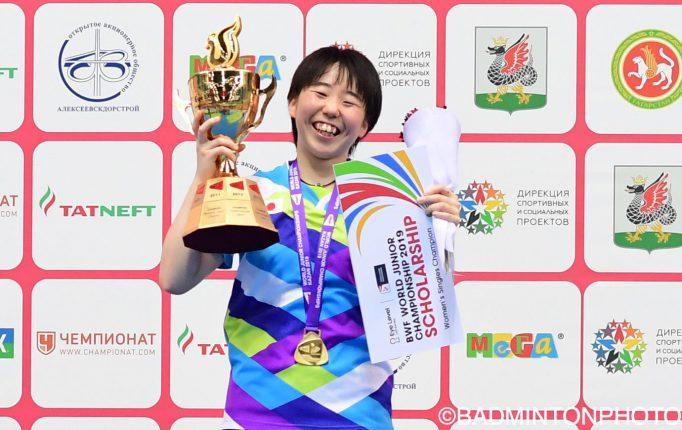 【世界ジュニア2019】郡司莉子が優勝!ジュニアの頂点に君臨!<個人戦決勝戦>