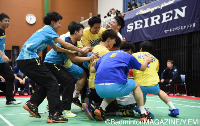 【S/JリーグⅡ2019】7戦全勝の丸杉が優勝!S/Jリーグに昇格!<男子>