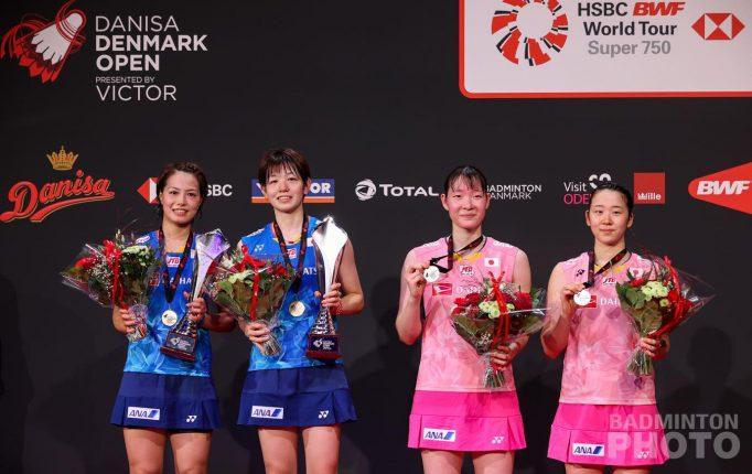 【デンマークOP】日本女子が躍動!奥原、福島&廣田が頂点到達!<決勝戦結果>